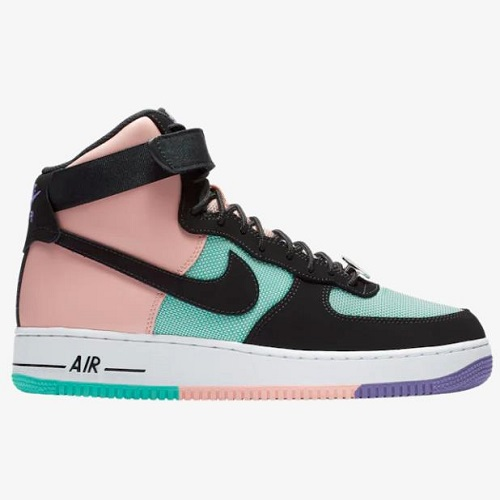 Nike 耐克 Air Force 1 Hi '07 LV8 男子拼色高帮板鞋