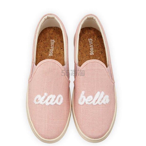 Soludos 粉色芭蕾渔夫鞋 .6(约259元) - 海淘优惠海淘折扣|55海淘网