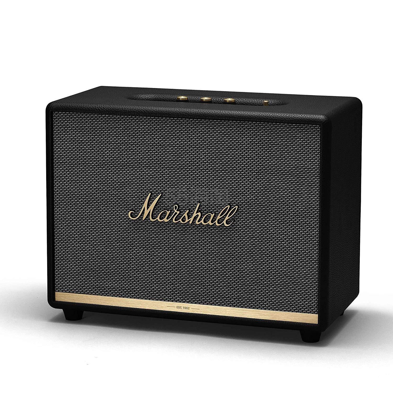 史低价!【中亚Prime会员】Marshall 马歇尔 Woburn II 二代无线蓝牙音箱 黑色 到手价2824元 - 海淘优惠海淘折扣 55海淘网
