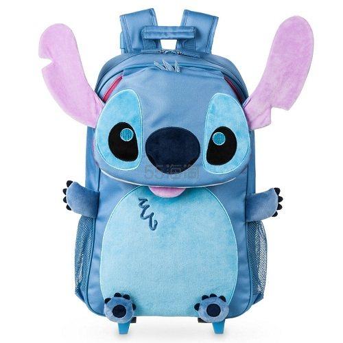 7.6折!Disney 迪士尼 史迪仔拉杆双肩背包 (约193元) - 海淘优惠海淘折扣|55海淘网