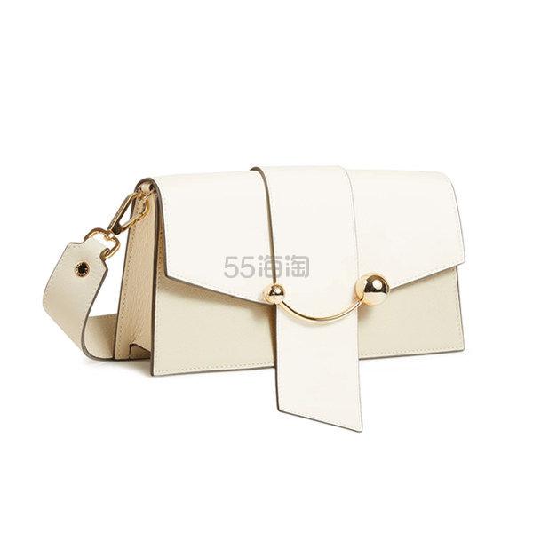 Strathberry Mini Crescent 象牙白单肩包 £425(约3,650元) - 海淘优惠海淘折扣|55海淘网