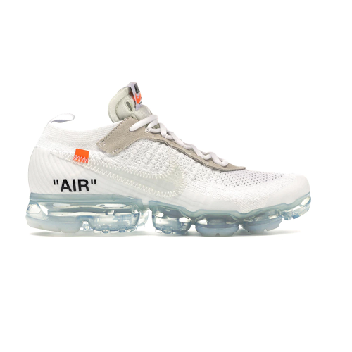 Off White Air Vapormax 2018 白色运动鞋
