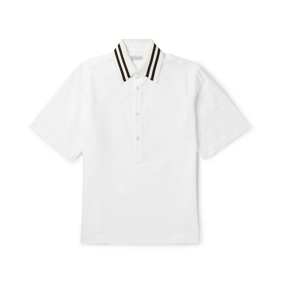 DRIES VAN NOTEN 白色 POLO 短袖