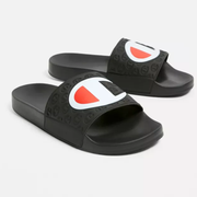 Champion 冠军 Multi-Lido Black Pool Sliders 拖鞋
