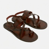UO Leather Buckle Strap Sandals 平底搭扣皮革凉鞋
