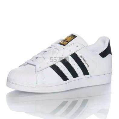 adidas Originals 三叶草 Superstar 金标 大童款 .95(约344元) - 海淘优惠海淘折扣|55海淘网