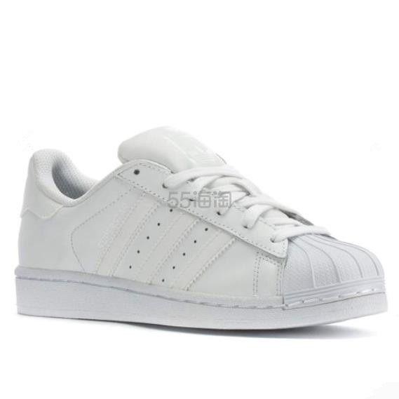 adidas Originals 三叶草 Superstar 大童款板鞋 .99(约344元) - 海淘优惠海淘折扣|55海淘网