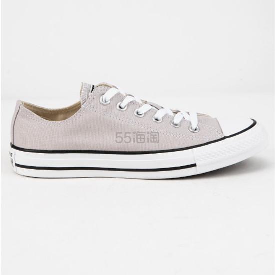 4折!Converse 匡威 All Star 米灰色低帮帆布鞋 .98(约137元) - 海淘优惠海淘折扣|55海淘网