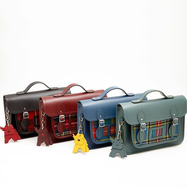 The Cambridge Satchel Company:精选 Tartan & Harris Tweed 联名系列剑桥包