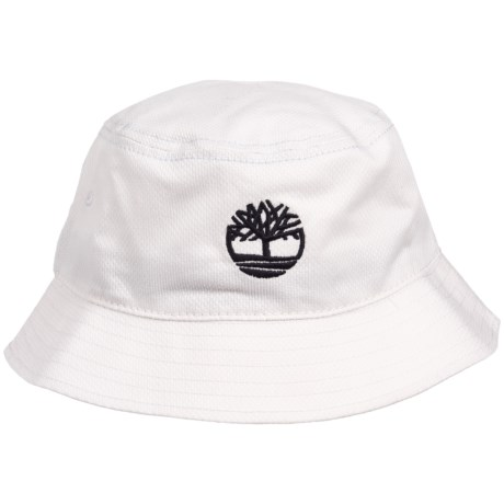 Timberland 添柏岚 Bucket Hat Logo 印花渔夫帽