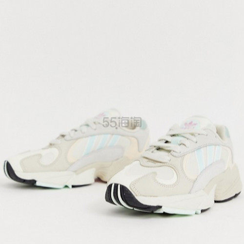 adidas Originals Yung-1 白绿配色老爹鞋