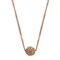 6.8折!Givenchy 纪梵希 玫瑰金彩色星球水晶项链