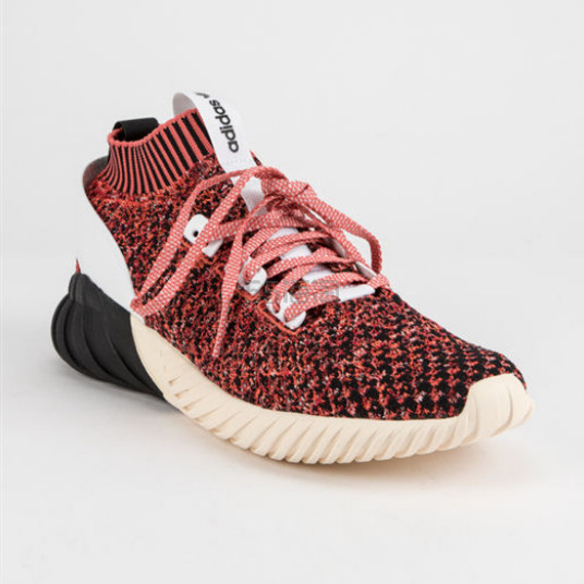 Adidas 三叶草 Tubular Doom 男士袜子鞋