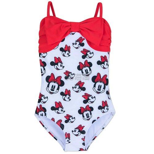 限时美境免邮!Disney 迪士尼 米妮女孩连体泳衣 .99(约76元) - 海淘优惠海淘折扣|55海淘网