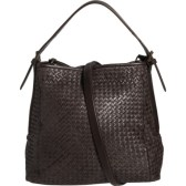 Valentina Woven Leather Hobo Bag 流浪包