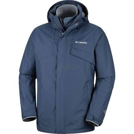 限尺码!Columbia 哥伦比亚 Bugaboo II 男款3合1冲锋衣 .97(约550元) - 海淘优惠海淘折扣|55海淘网