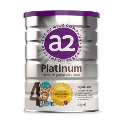 【包邮包税】A2 Platinum 白金婴幼儿奶粉 4段 900g 37.96澳币(约180元) - 海淘优惠海淘折扣|55海淘网