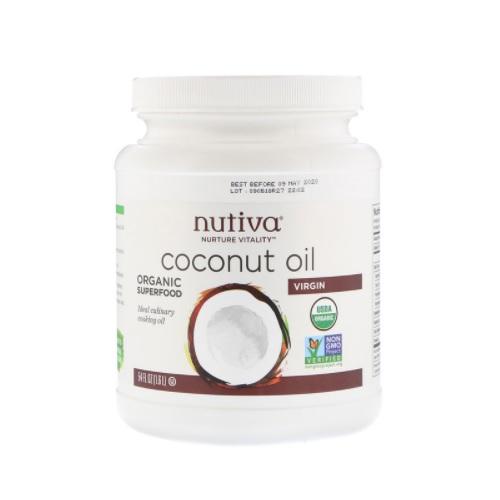 Nutiva 有机初榨椰子油 1.6L