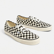 Vans 万斯 Anaheim Factory Authentic 44 DX Checkerboard Trainers 棋格帆布鞋