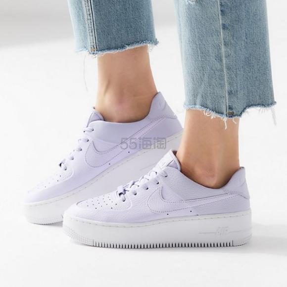 Nike Air Force 1 耐克空军一号 Sage Low Sneaker 紫色运动鞋 0(约688元) - 海淘优惠海淘折扣 55海淘网