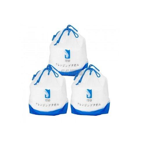 【满额包税免邮中国】ITO 珍珠棉柔洁面巾洗脸巾 3包 (约207元) - 海淘优惠海淘折扣|55海淘网