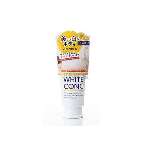 【满额包税免邮中国】White Conc 美白身体磨砂膏 180g .9(约82元) - 海淘优惠海淘折扣|55海淘网