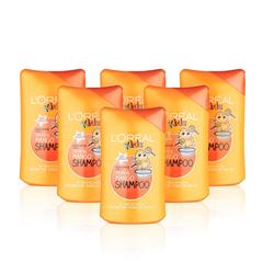 【亚马逊海外购】L'Oreal Paris 欧莱雅 儿童洗发水 250ml*6瓶 热带芒果香