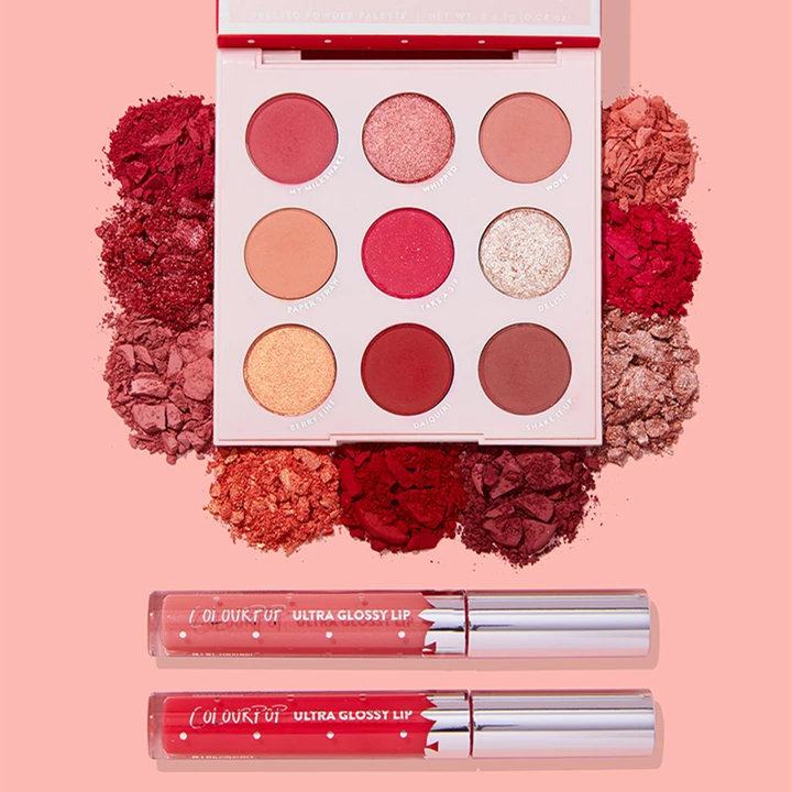 【新系列】Colourpop Strawberry Collection 草莓盘唇釉套装
