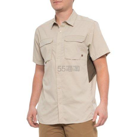 仅限S码~Mountain Hardwear 山浩 Canyon Pro 男款短袖排汗衬衫 (约201元) - 海淘优惠海淘折扣|55海淘网