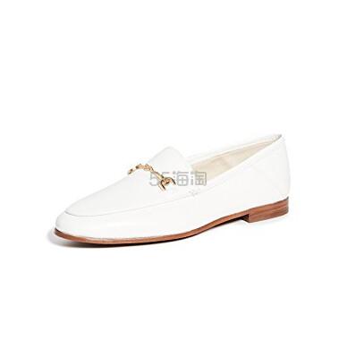 白色再度补货~Sam Edelman Loraine 平跟船鞋 0(约846元) - 海淘优惠海淘折扣|55海淘网