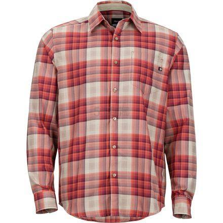 码全!Marmot 土拨鼠 Zephyr 男士长袖格纹衬衫 .96(约211元) - 海淘优惠海淘折扣 55海淘网
