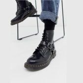 Dr Martens 1460 harness 8 eye 亮皮马丁靴