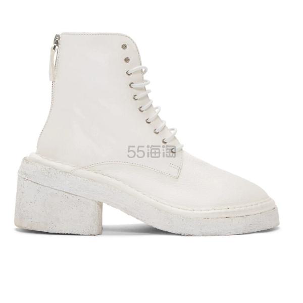 Marsèll 白色军靴 ,050(约7,375元) - 海淘优惠海淘折扣 55海淘网
