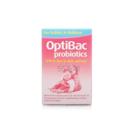 【9折+满£50额外8.5折】Optibac probiotics 婴幼儿孕妇益生菌 30包