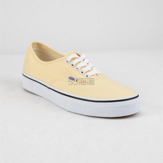Vans 万斯 浅鹅黄色低帮帆布鞋 .98(约197元) - 海淘优惠海淘折扣|55海淘网
