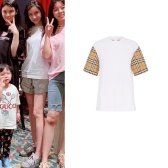 【AngelaBaby杨颖同款】Burberry Vintage Check T-Shirt 老花T恤
