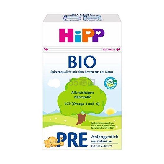 【中亚Prime会员】Hipp 喜宝 Bio 婴幼儿奶粉 Pre段 600g*4盒 到手价348元 - 海淘优惠海淘折扣|55海淘网