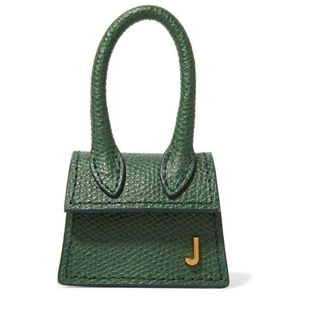 JACQUEMUS Le Petit Chiquito 纹理皮革迷你手提包 0(约1,624元) - 海淘优惠海淘折扣|55海淘网