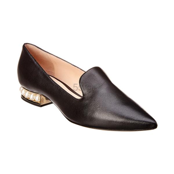 Nicholas Kirkwood 尖头珍珠鞋底吸烟鞋 9.99(约2,824元) - 海淘优惠海淘折扣|55海淘网