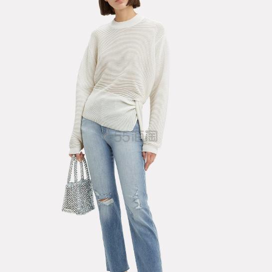 Michelle Mason 不对称扭结基础款针织衫 9(约1,264元) - 海淘优惠海淘折扣|55海淘网
