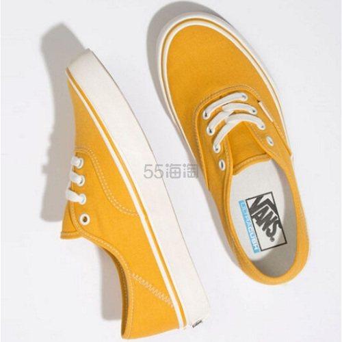 Vans 万斯 芒果黄色低帮帆布鞋