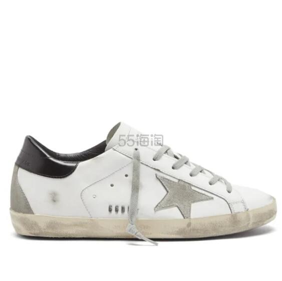 GOLDEN GOOSE Superstar 经典黑白配小脏鞋 €296(约2,344元) - 海淘优惠海淘折扣|55海淘网