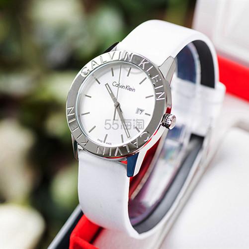 好价!Calvin Klein 卡尔文·克莱因 Steady 系列 银白色女士时装腕表 K7Q211L6 (约529元) - 海淘优惠海淘折扣|55海淘网