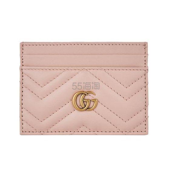 Gucci Marmont 粉色小卡夹 ¥1,335.58 - 海淘优惠海淘折扣|55海淘网