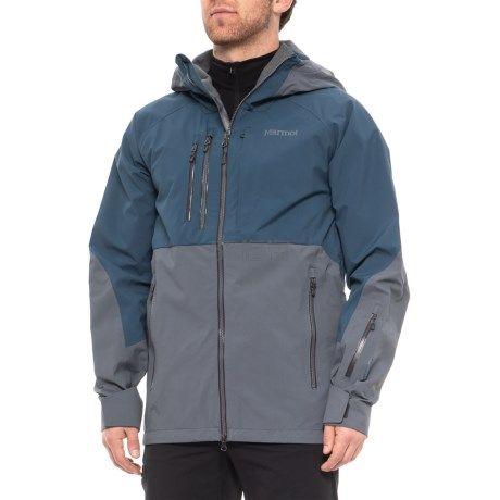 码全双色~Marmot 土拨鼠 B Love Gore-Tex Pro 男款冲锋衣 9.99(约2,105元) - 海淘优惠海淘折扣|55海淘网