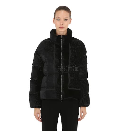 【仅剩 US6码】MONCLER 黑色羽绒服 ,150(约8,071元) - 海淘优惠海淘折扣|55海淘网