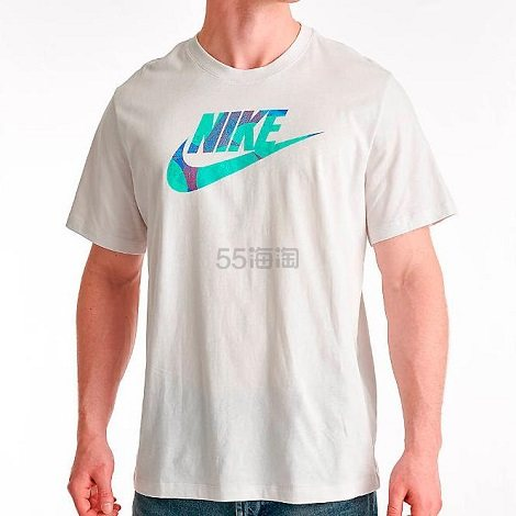Nike 耐克 彩色 Logo 男子T恤
