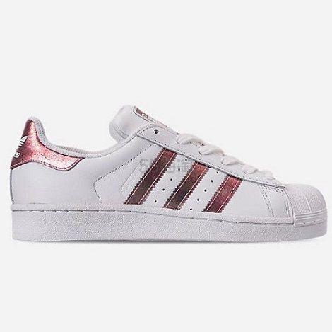 adidas Originals 三叶草 Superstar 大童款板鞋 (约316元) - 海淘优惠海淘折扣|55海淘网