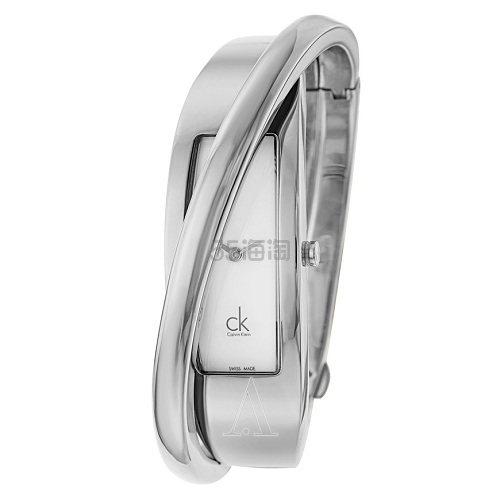 Calvin Klein 卡尔文·克莱因 Feminine 系列 银色女士时装腕表 K2J23101 .99(约316元) - 海淘优惠海淘折扣|55海淘网