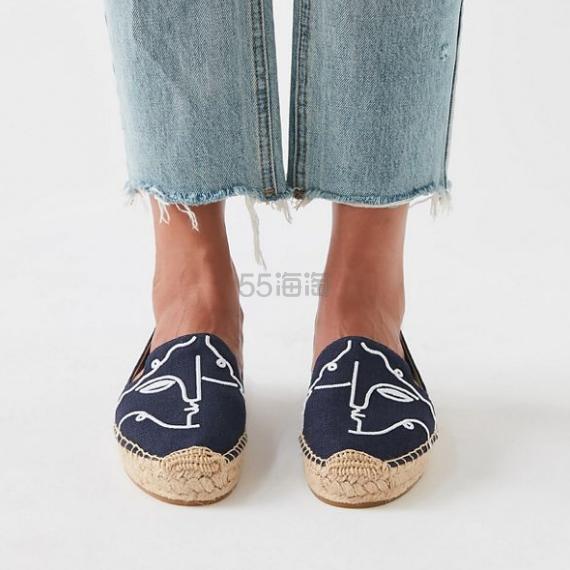 Soludos X Garance Vallée 联名 Visage 渔夫鞋 .99(约337元) - 海淘优惠海淘折扣|55海淘网